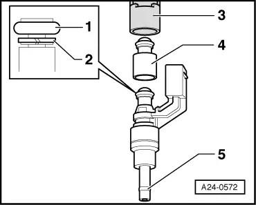 Audi Workshop Manuals > A2 > Power unit > Motronic Direct