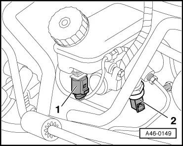 Audi Workshop Manuals > A2 > Brake system > Brakes