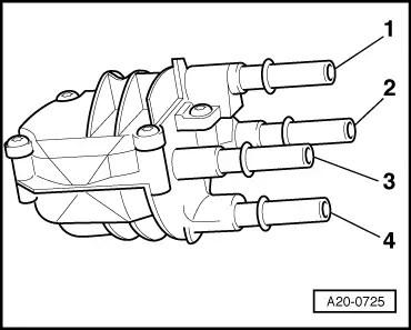 Audi Workshop Manuals > A2 > Power unit > Fuel supply