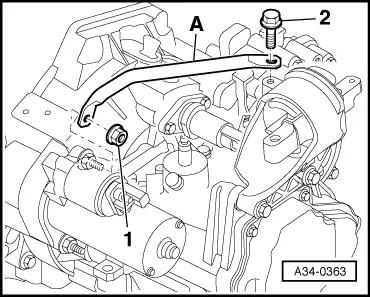 Audi Workshop Manuals > A2 > Power unit > 3-cylinder TDI