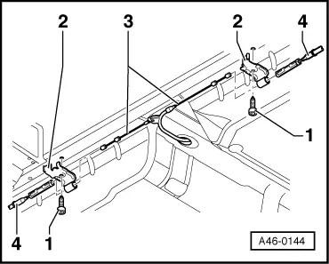 Audi Workshop Manuals > A2 > Running gear, front-wheel