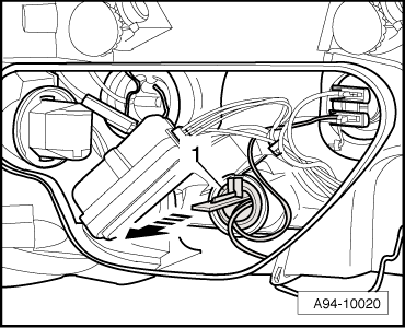 Audi Workshop Manuals > A2 > Vehicle electrics