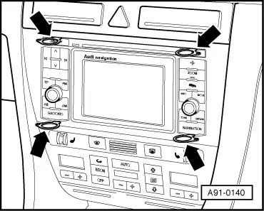 Audi Workshop Manuals > A2 > Vehicle electrics > Radio