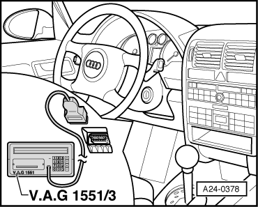 Audi Workshop Manuals > A2 > Body > Body Self-diagnosis