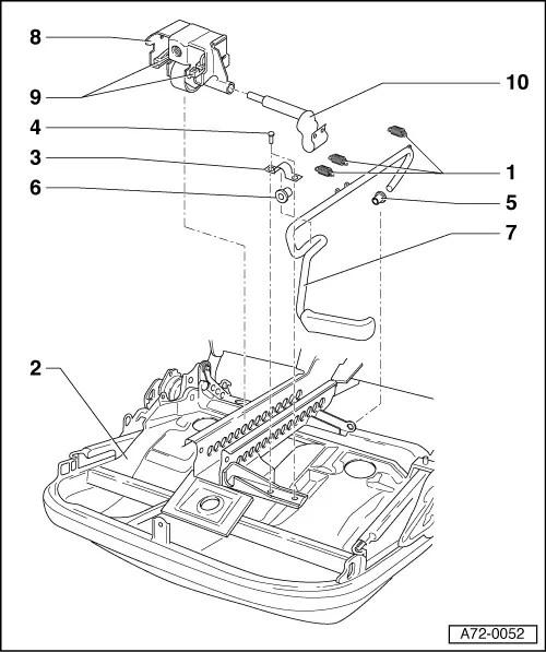 Audi A3 Front Seat Mechanism