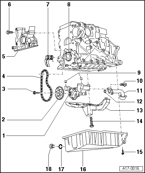Audi Workshop Manuals > A3 Mk1 > Power unit > 4-cylinder