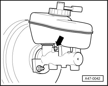 Audi A3 8p Clutch Master Cylinder Replacement