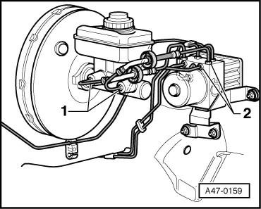 Audi Workshop Manuals > A3 Mk1 > Brake system > Brakes