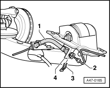 Audi Workshop Manuals > A3 Mk1 > Brake system > Brakes