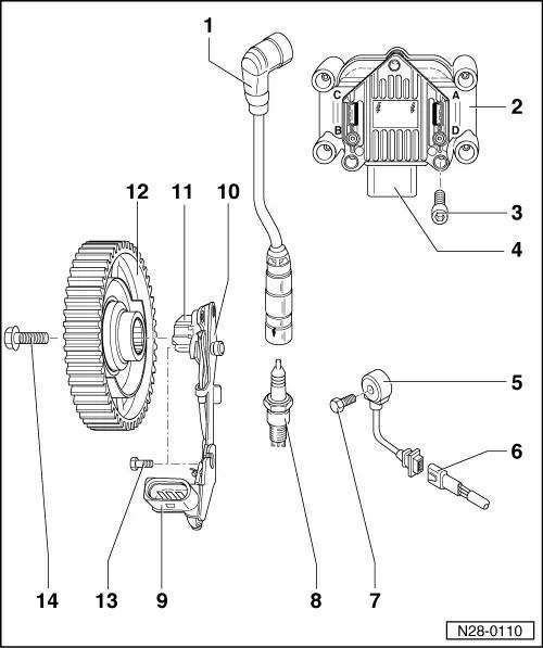 Audi Workshop Manuals > A3 Mk1 > Power unit > Simos