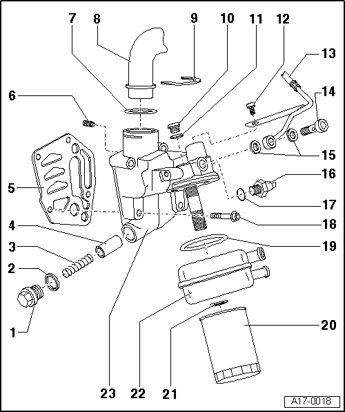 Audi Workshop Manuals > A3 Mk1 > Power unit > 4-cylinder 1