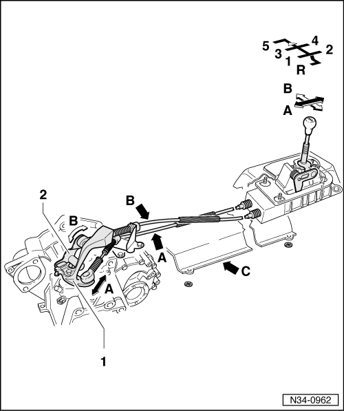 Audi Workshop Manuals > A3 Mk1 > Power transmission > 5