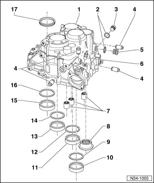 Audi Workshop Manuals > A3 Mk1 > Power transmission > 6