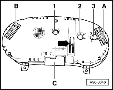 Audi Workshop Manuals > A3 Mk1 > Vehicle electrics