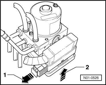 Audi Workshop Manuals > A3 Mk1 > Brake system > ABS, ADR
