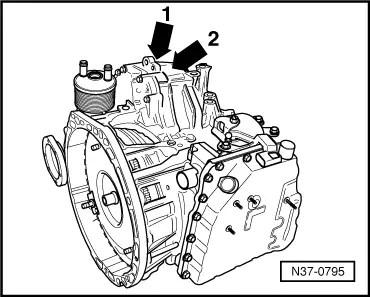 Vw Beetle Automatic Transmission Diagram