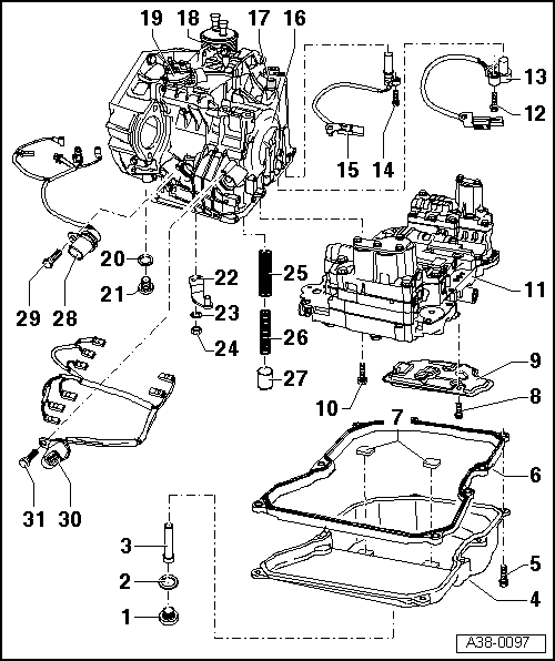 Service manual [Diagram Of How A 2011 Audi A3 Transmission