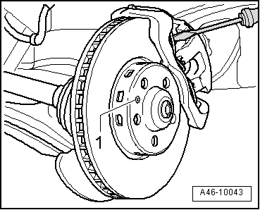 Audi Workshop Manuals > A3 Mk2 > Brake system > Brake
