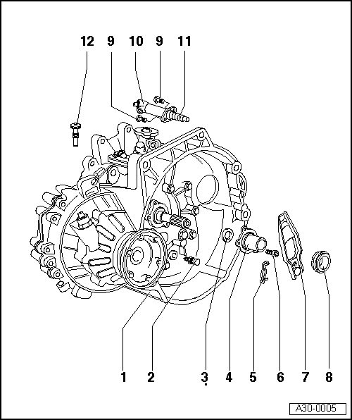 Audi Workshop Manuals > A3 Mk2 > Power transmission > 5