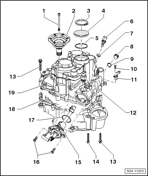 Audi Workshop Manuals > A3 Mk2 > Power transmission > 6