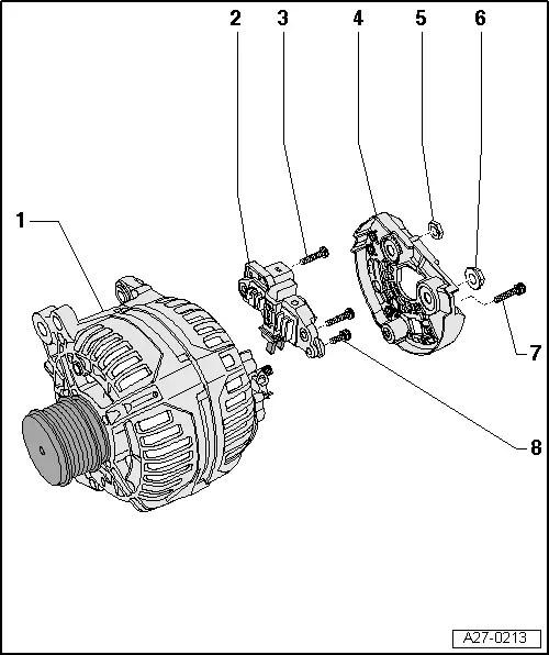 Audi Workshop Manuals > A3 Mk2 > Vehicle electrics