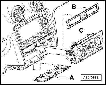 Audi Workshop Manuals > A3 Mk2 > Heating, ventilation, air