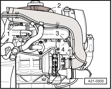 Audi Workshop Manuals > A3 Mk2 > Power unit > 4-cylinder