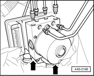 Audi Workshop Manuals > A3 Mk2 > Brake system > ABS, ADR