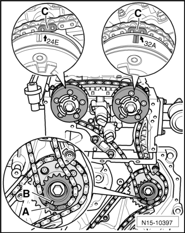 Audi Workshop Manuals > A3 Mk2 > Power unit > 6-cylinder