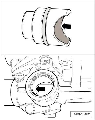 Audi Workshop Manuals > A3 Mk2 > Running gear, front-wheel