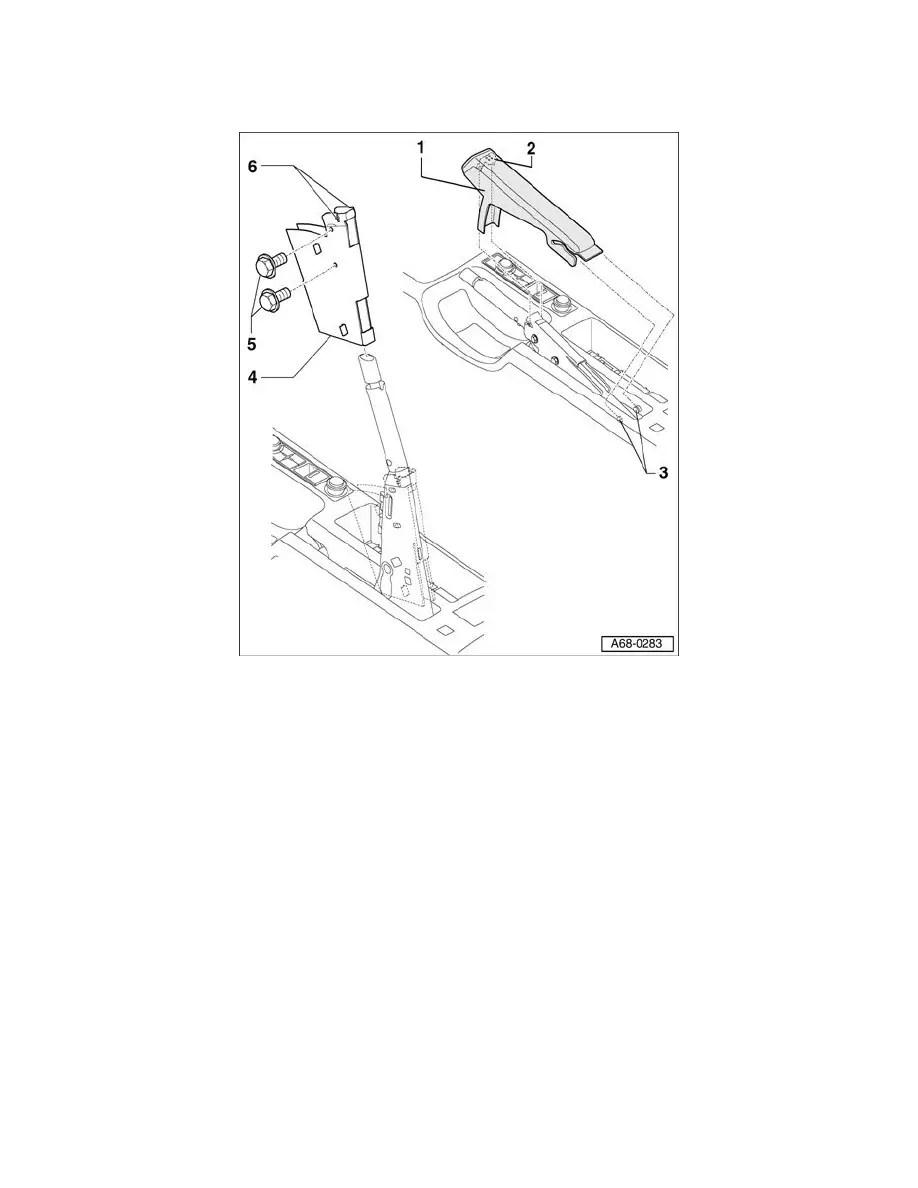 Audi Workshop Manuals > A4 Cabriolet V6-3.0L (AVK) (2003