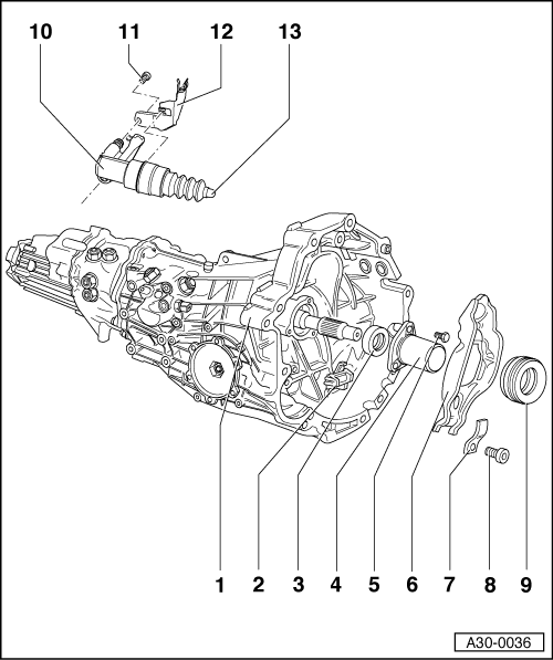Audi Workshop Manuals > A4 Cabriolet Mk2 > Power