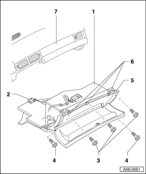 Audi Workshop Manuals > A4 Cabriolet Mk2 > Body > Fitting