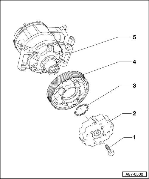 Audi Workshop Manuals > A4 Cabriolet Mk2 > Heating
