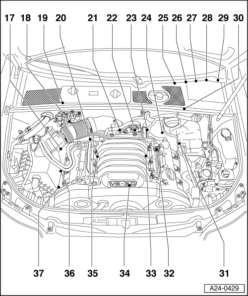 audi a4 turbo diagram