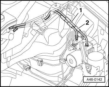 Audi Workshop Manuals > A4 Cabriolet Mk2 > Brake system