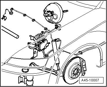 Audi Workshop Manuals > A4 Cabriolet Mk2 > Brake system