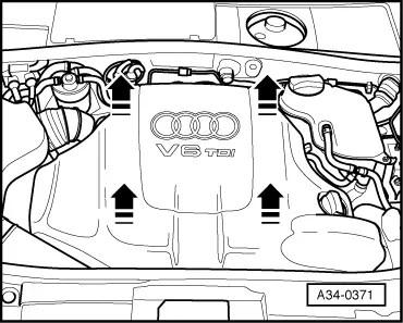Audi Workshop Manuals > A4 Cabriolet Mk2 > Power unit > 6