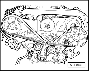 Audi Workshop Manuals > A4 Cabriolet Mk2 > Power unit > 6