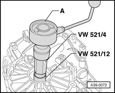 Audi Workshop Manuals > A4 Mk1 > Power transmission > 5