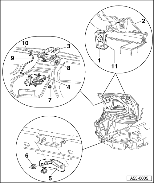 Audi Workshop Manuals > A4 Mk1 > Body > General Body