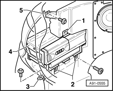Audi Workshop Manuals > A4 Mk1 > Vehicle electrics > Radio