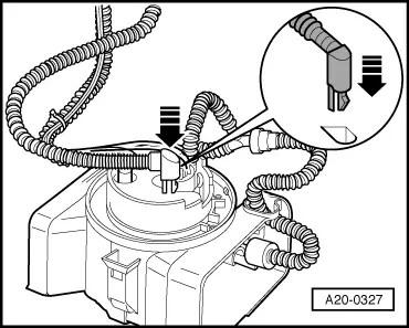 Audi Workshop Manuals > A4 Mk1 > Power unit > Fuel supply