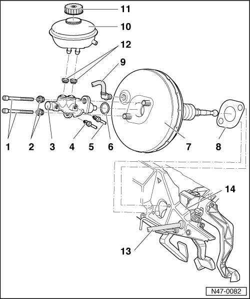 Audi Workshop Manuals > A4 Mk1 > Brake system > Brakes