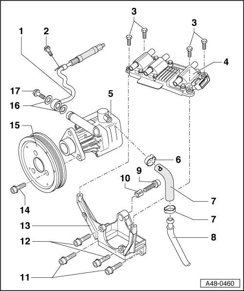 Audi Workshop Manuals > A4 Mk1 > Running gear, front-wheel
