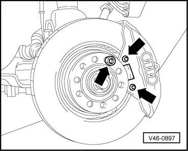 Audi Workshop Manuals > A4 Mk1 > Brake system > Brake