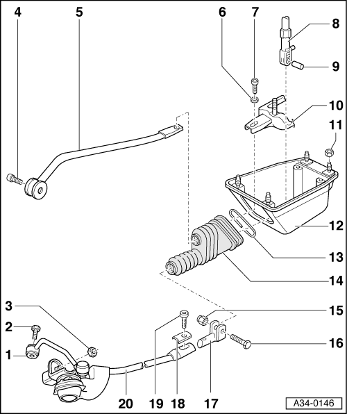 Audi Workshop Manuals > A4 Mk1 > Power transmission > 6