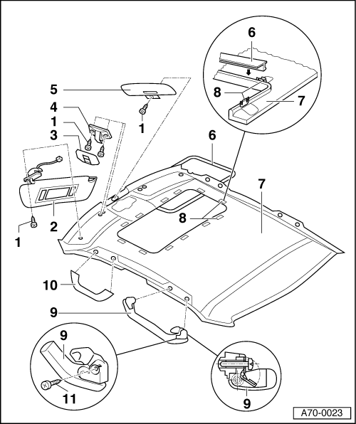 Service manual [How To Remove Sliding Door Cable 2009 Audi