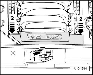 Audi Workshop Manuals > A4 Mk2 > Power unit > 8-cylinder