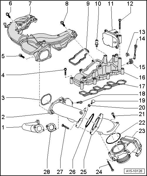 Audi Workshop Manuals > A4 Mk2 > Power unit > TDI